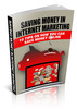 Thumbnail Saving Money In Internet Marketing