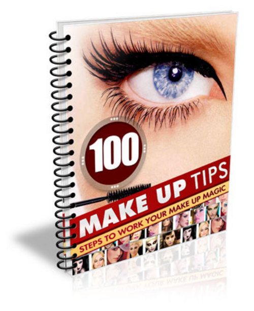 Product picture 100 Make Up Tips Steps To Work Your Make up Magic