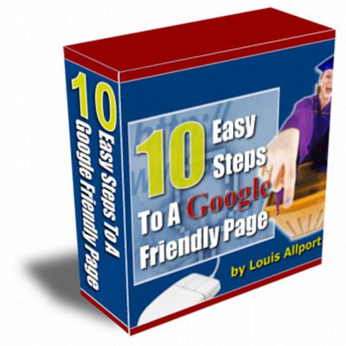 Product picture New! 10 easy steps to a google friendly page