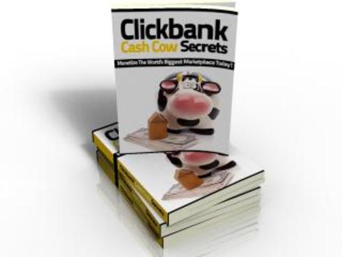 Product picture Clickbank Cash Cow Secrets