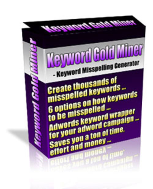 Product picture Keyword Gold Miner