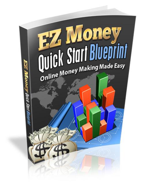 Product picture EZ Money Quick Start Blueprint